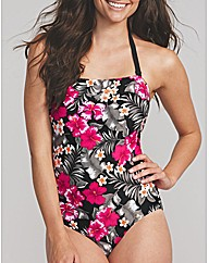 Flora Underwired Bandeau Swimsuit