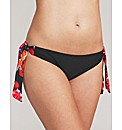 Flamenco Rose Tie Side Brief