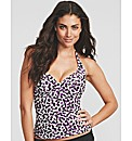 Mauritius Underwired Halter Tankini Top