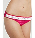 Rose Frill Bikini Brief