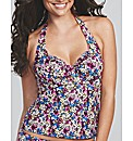 Cherie Floral Underwired Tankini Top
