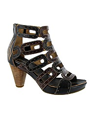 Riva Suma Leather Caged Sandal