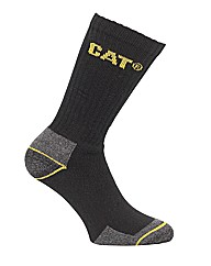 Caterpillar Crew Work Sock - 3 pair pack