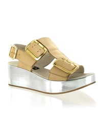 Marta Jonsson multi leather wedge