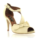 Marta Jonsson cream leather sandal