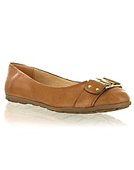 Marta Jonsson tan leather pump
