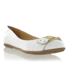 Marta Jonsson white leather pump