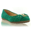 Marta Jonsson green leather pump