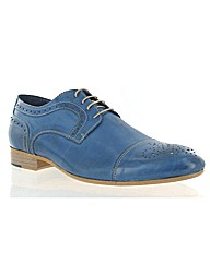 Marta Jonsson blue leather shoe