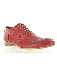 Marta Jonsson red leather shoe