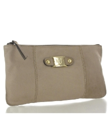 Marta Jonsson taupe leather bag