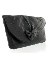 Marta Jonsson black leather bag