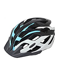 Mirage Adult Cycle Helmet Ocean Blue