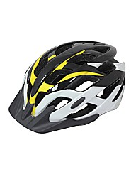 Mirage Adult Cycle Helmet Yellow