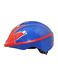Childs Blue Flame Cycle Helmet