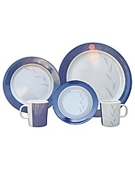 16 Piece picnic set Azure