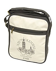 London Vintage Olympic A4 Shoulder Bag