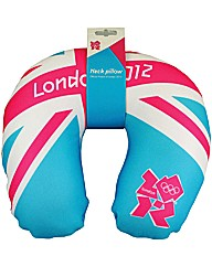 London 2012 Olympic Microbead Neck Rest