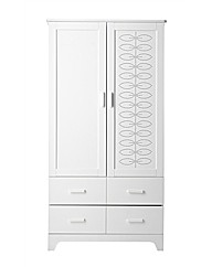 Cosatto Do-Re-Mi Wardrobe - White