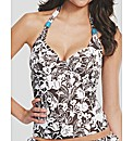 Sahara Underwired Halter Tankini Top
