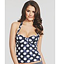Sail Away Underwired Tankini Top