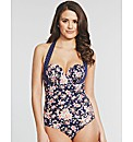 Prairie Girl Underwired Halter Swimsuit