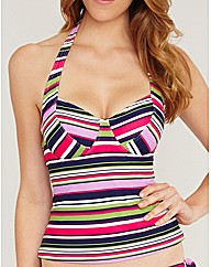 Tequila Sunrise Underwired Tankini Top