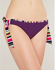 Purple Haze Tie Side Bikini Brief