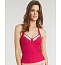 Rose Underwired Tankini Top