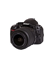 Nikon D3100 SLR 18-55mm VR Lens Kit 14MP