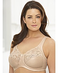 Natural Wire - Lace Support Bra