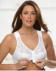 Soft Shoulders-Comfort Back Support Bra
