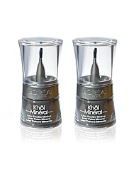 Khol Mineral Powder Liner Black 2 Pack
