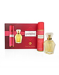 Coty Laimant Perfume and Body Spray Set