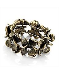 Gold Coloured Flower Bracelet