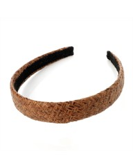 Brown Platt Headband