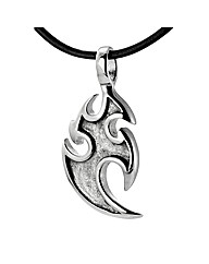 Stainless Steel Gents Tribal Pendant