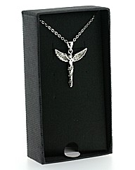 Crystal Angel Pendant