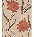 Superfresco Texture Poppy Wallpaper