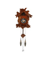 Wooden case Qtz Cuckoo Clock - Small