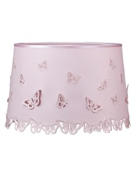 Butterflies Pink Laser Cut Lamp Shade