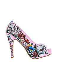 Iron Fist Pretty Fierce Peep Toe