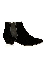 Amberley Black Suede Boot