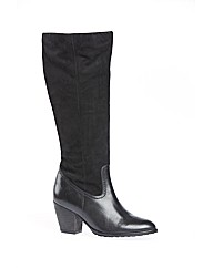 Silverdale Black Suede Boot