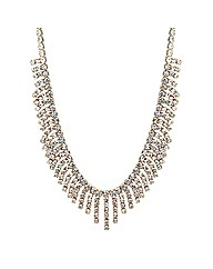 Jon Richard Diamante Shower Necklace