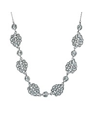 Jon Richard Multi Crystal Link Necklace