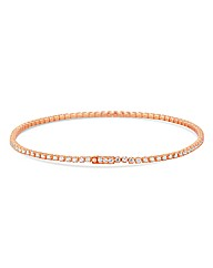Jon Richard Slinky Rose Gold Bracelet