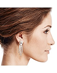 Jon Richard Stone Tassel Drop Earring