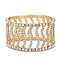 Jon Richard Gold Wave Stretch Bracelet