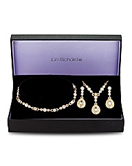 Jon Richard Josephine Trio Jewellery Set